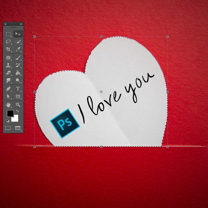 Ps I love you #Photoshop #Valentijn #Marketing