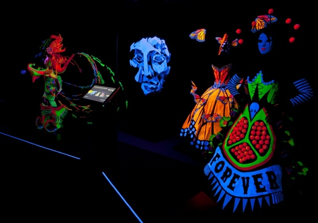 Off The Wall:WearableArt Up Close exhibition touring New Zealand