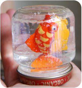 Baby Food Jar Idea Oso S Snow Globe Project Kids At Repinned Net