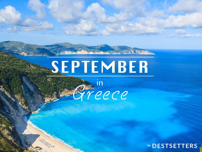 'September in Greece' by Destsetters: Brand New Campaign to Extend Greek Tourism Period and Bring Closer Tourism Companies
