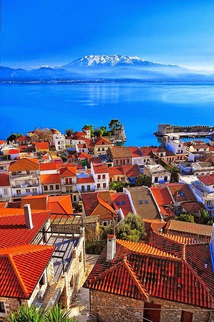 Although I've already been to Greece, I would love to return and go here! Nafpaktos, Greece