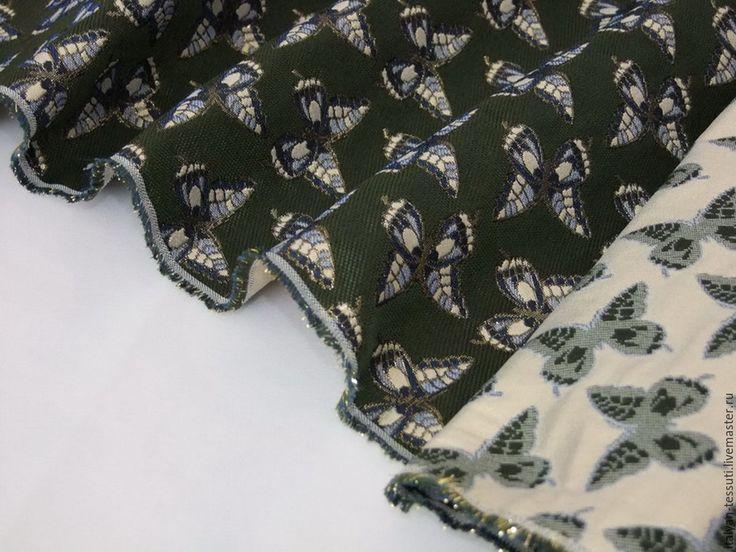 Купить -20% Alta moda жаккард костюмно-пальтовый, Италия - комбинированный, итальянские ткани, жаккард