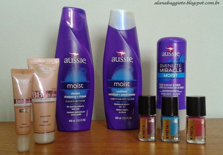 Alana Baggioto: Kit Aussie Moist, BB Cream da L' oréal Paris e Esm...