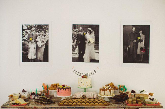 BIG BEAR BAKERY wedding dessert table