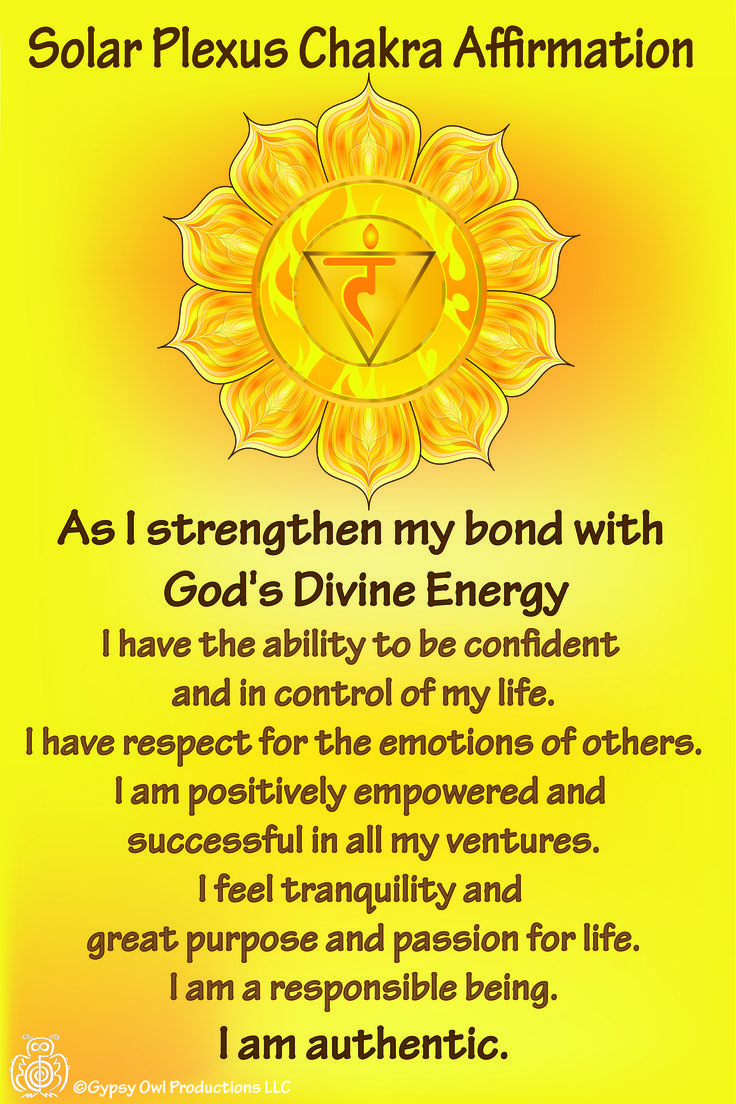Solar Plexus Chakra Affirmation https://www.etsy.com/listing/209760710/7-chakra-affirmation-cards-with-daily?ref=shop_home_feat_2