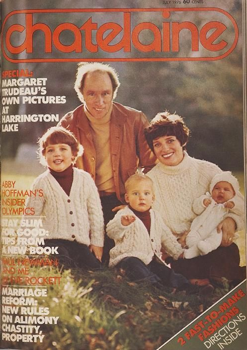 "July 1976 - ""Margaret Trudeau's own pictures at Harrington lake"""