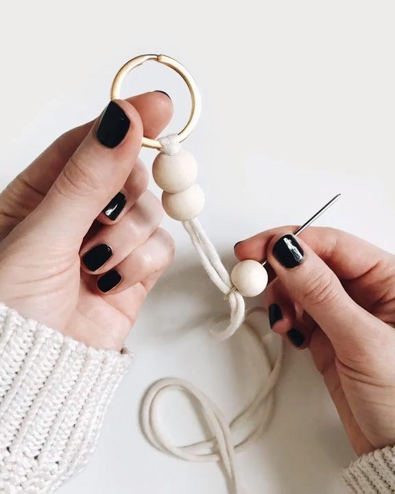 Unique DIY Keychain. Homemade  – Basteln und mehr