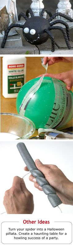 Home Hardware - Halloween Projects: Web Master