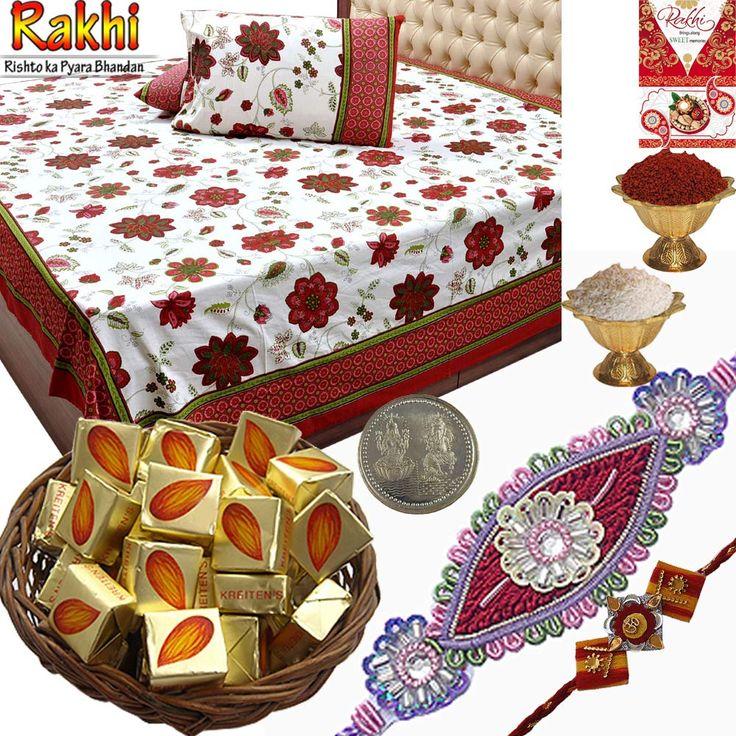 Explore attractive bhaiya  bhabhi #Rakhi  #gift #hampers !!! For more visits: http://bit.ly/1mTMhmn