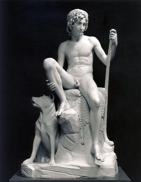 Bertel Thorvaldsen (1770-1844) - Pastorello col cane