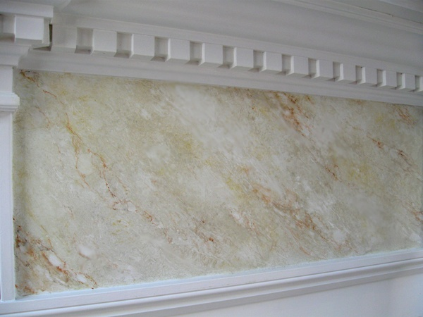 Faux marble!