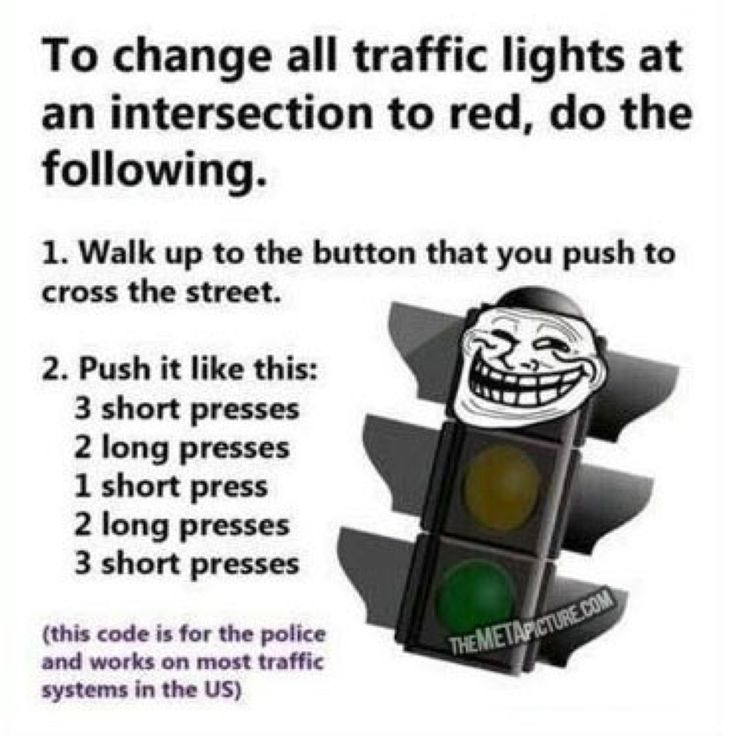 How to make drivers super angry ;)
