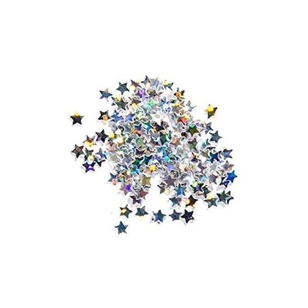 Stargazer Loose Glitter Stars Eyeshadow Makeup Face Body Hair Nails... ($2.60) ❤ liked on Polyvore featuring beauty products