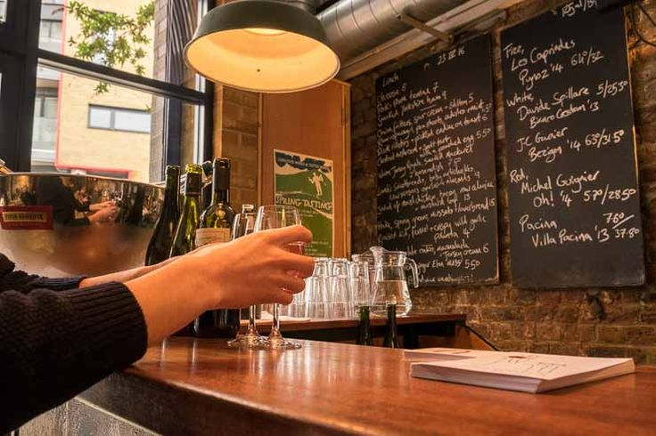 A review of restaurant & wine bar 40 Maltby Street, one of the best places in London to find natural, organic wine.