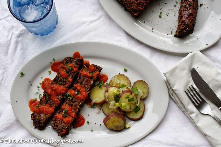 Plates for Plants: Black Bean Loaf
