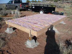 cabin floor insulation