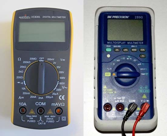 how to find a short with a multimeter