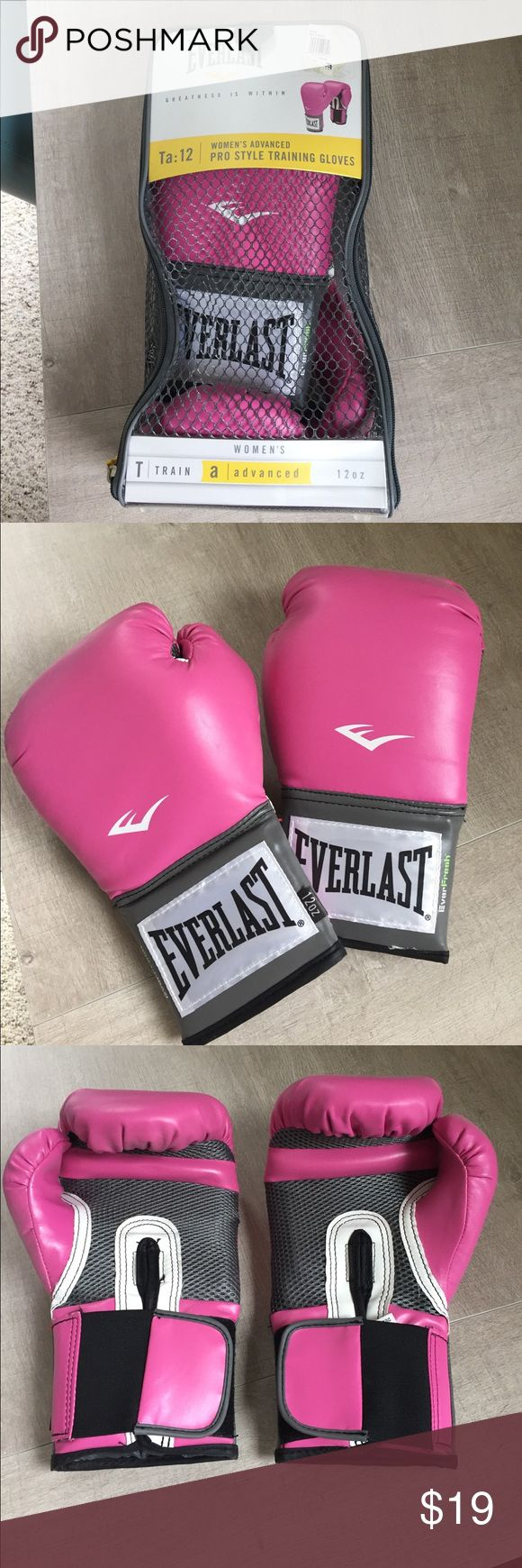 Everlast Boxing Gloves I have never worn these boxing gloves they've just been sitting in my closet, brand-new in their original packaging. Everlast Other