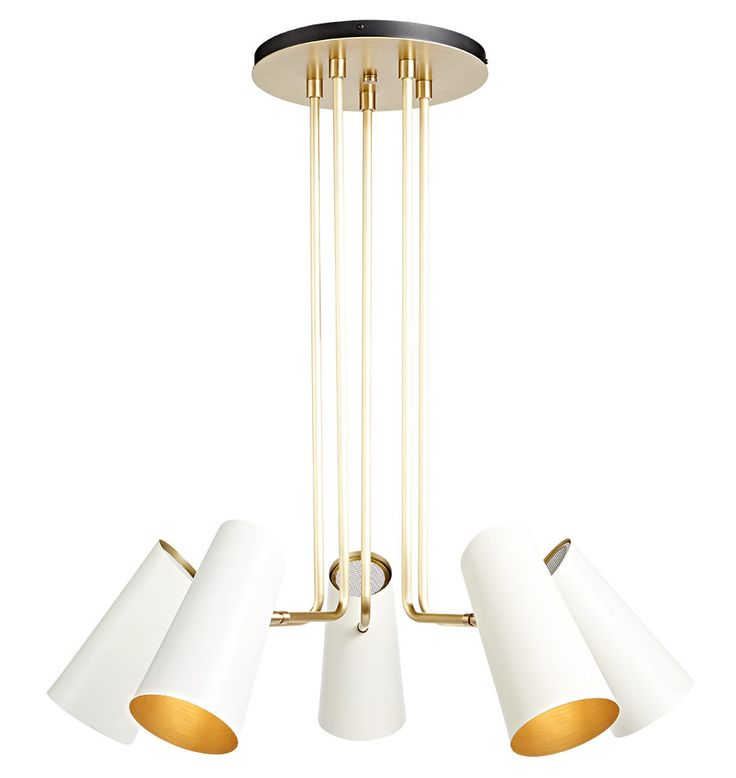 Cypress 5-arm chandelier - $559