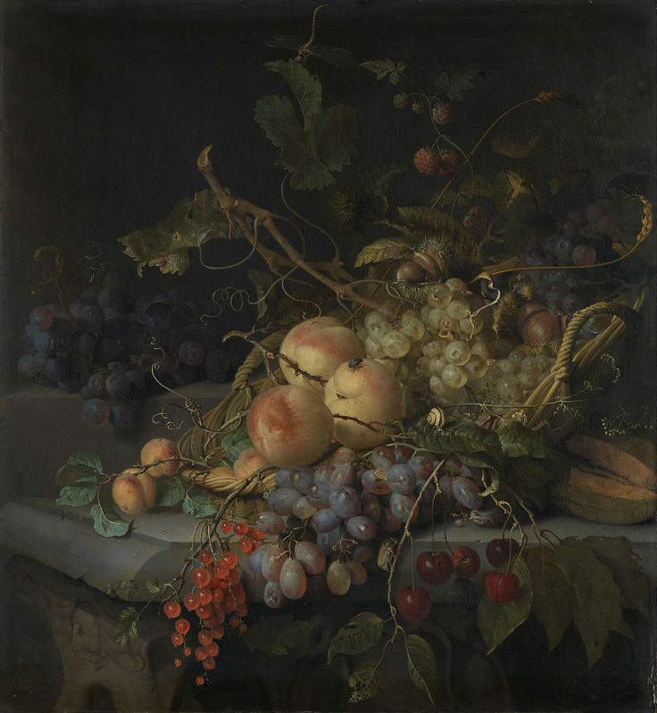Still Life with FruitStilleven met vruchten, Jacob van Walscapelle, 1670 - 1727