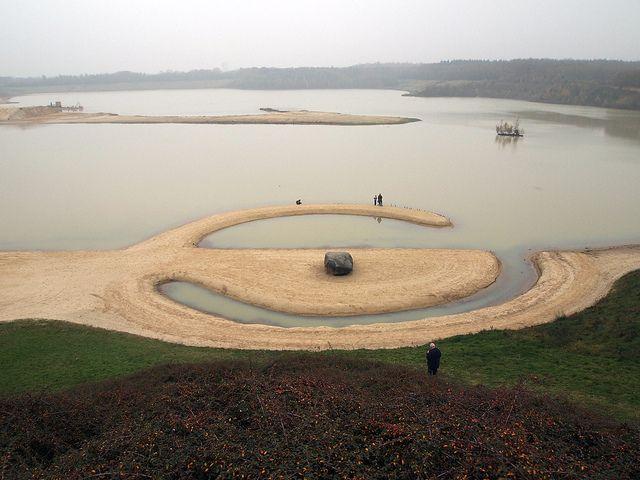 'Broken Circle' ('Land Art') by Robert Smithson in Emmen, Holland, via Flickr.