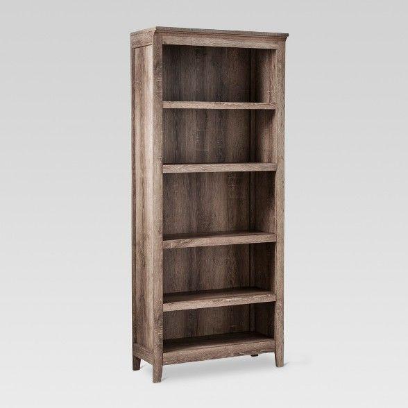 72 Carson 5 Shelf Bookcase Threshold Target 5 Shelf