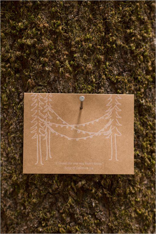 homemade wedding invitations | kraft paper wedding invites | wedding stationery | #weddingchicks