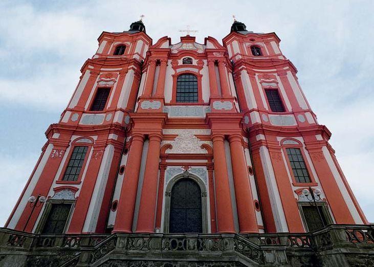 The church in Přeštice (West Bohemia), Czechia