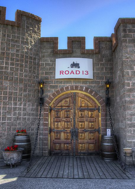 Road 13 Vineyards in Oliver, BC, Canada
