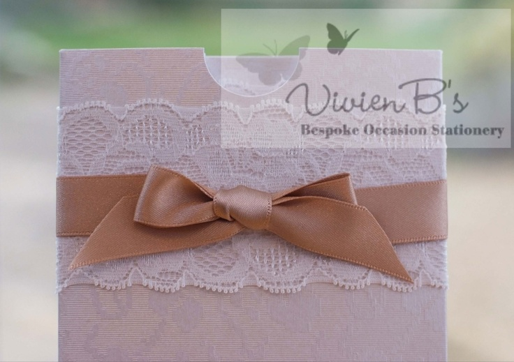 Heritage Lace wedding stationery collection. More wedding invitations and wedding stationery designs are also available from VivienB's in thame, oxford, oxfordshire. Available throughout the United Kingdom, UK, USA, Europe, and worldwide. Contact us via our website www.vivienbs.com
