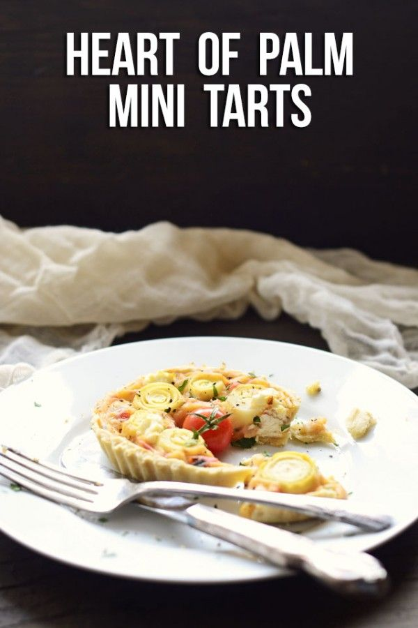Heart of Palm Mini Tarts | How Does She