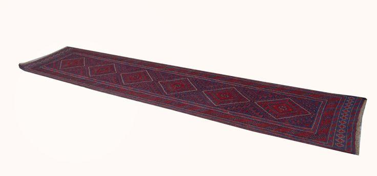 Baluch (381X81 Cm) Pukhtun Tribal Rugs For Less Handmade Runner 3 X 13