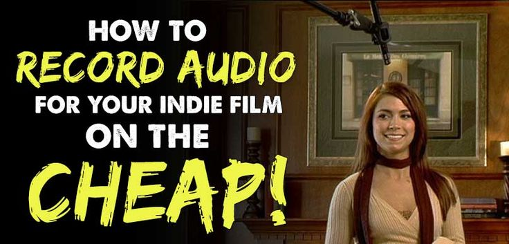 I was lost when it came time to record audio for my film. So I decide to put a…