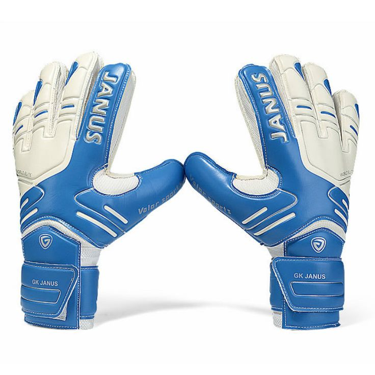 Best Price Janus Professional Goalkeeper Gloves With Finger Protection Thickened Latex Soccer Goalie #Latex #Free #Gloves