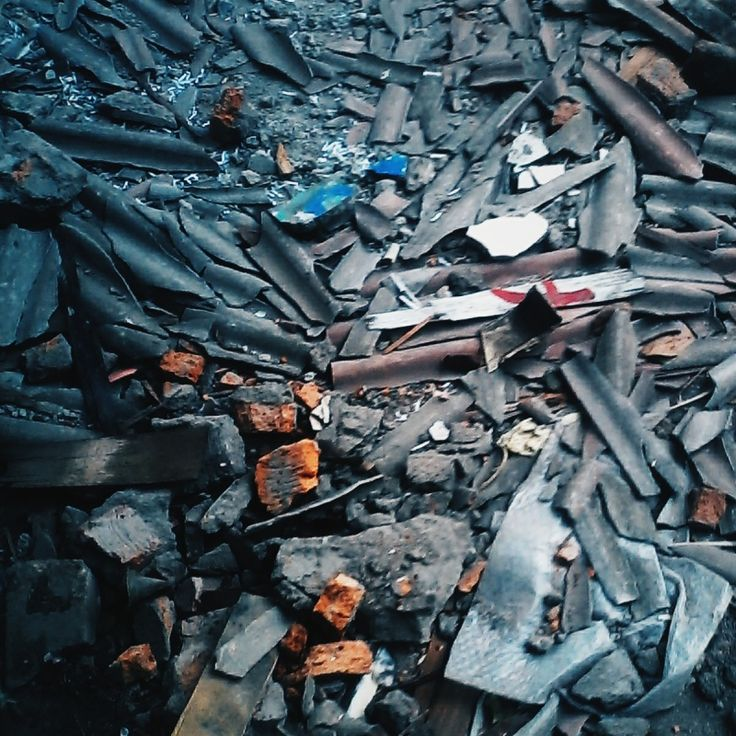 reruntuhan asbes