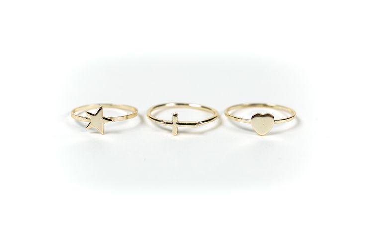 #rings #goldplated #bijoux #Airoldi  SHOP ON LINE  www.airoldifashion.com