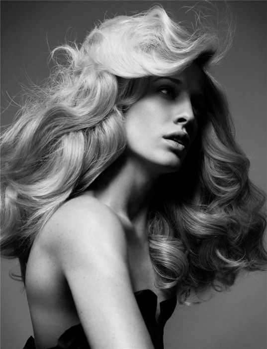 Soo Simple, but Sooo efficient !! Hair Storm by Solve Sundsbo for Pop Magazine Spring/Summer 08