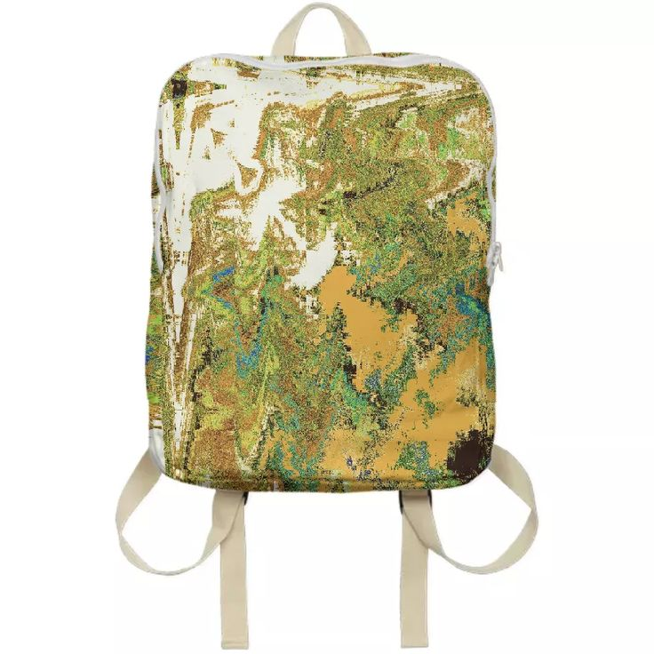 Shop Yellowsands Backpack by Kamo Vamo | Print All Over Me