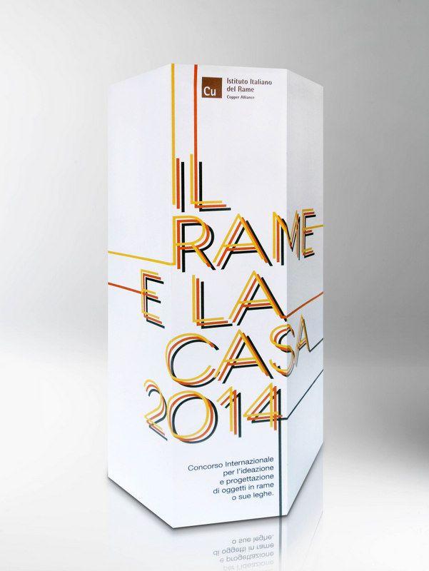 """Edizione 2014 del concorso """"Il rame  e la casa"""", circa 200 progetti provenienti da tutto il mondo."""