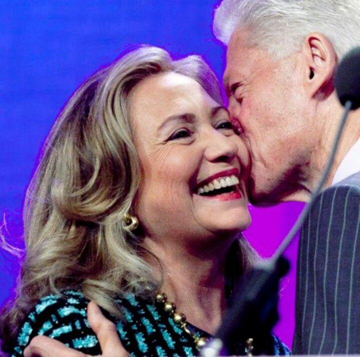 President Bill Clinton & Former 1st Lady/ Secretary Of State Hilary Clinton..
