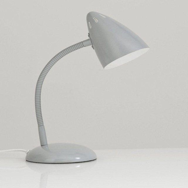 Lampe à poser métal style vintage, Rosella La Redoute Interieurs (Gris)