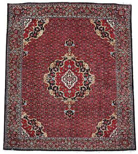 #Persian #Bidjar #Boukan #lovely piece of rugs.   RUG DESCRIPTION Finest Semi-tribal collection, woven North West Persia. Classical herati / mahee motif with floral medallion finest select wool silk inlay.