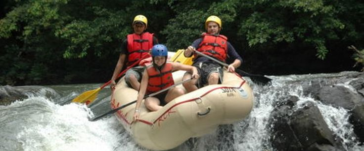 Tenorio River Rafting Class III/IV - Guanacaste Costa Rica.... Can't believe I'm going to do this