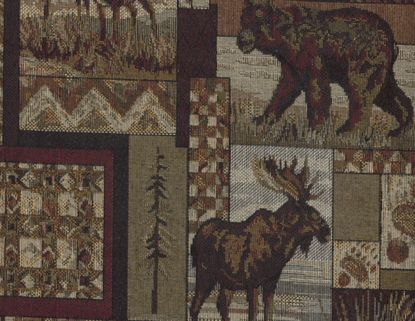 Peter's Cabin Fabric