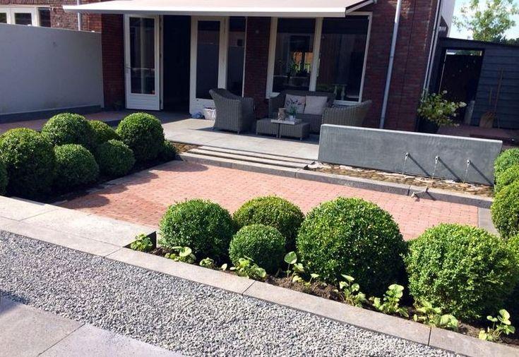 Tuin in aanleg Rhoon, afronding najaar 2014 » Hoveniersbedrijf Tim Kok
