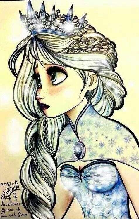 Elsa, this is beautiful. I love the detail of it.