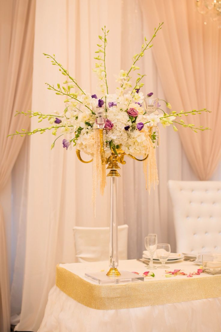 Gold Candelabra For Your Head Table