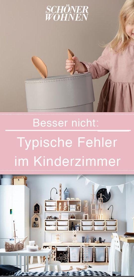 14 Typische Wohnirrtümer Im Kinderzimmer Die Sich Leicht Vermeiden Lassen.  #kinderzimmer #kids