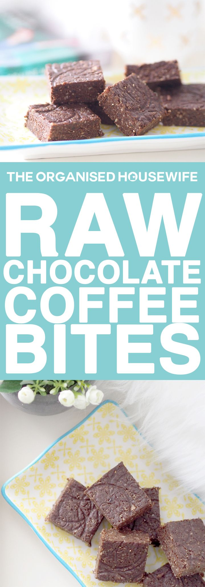 Looking for a healthy snack idea? These Raw chocolate and coffee bites are delicious and so easy to make. A perfect go to snack.