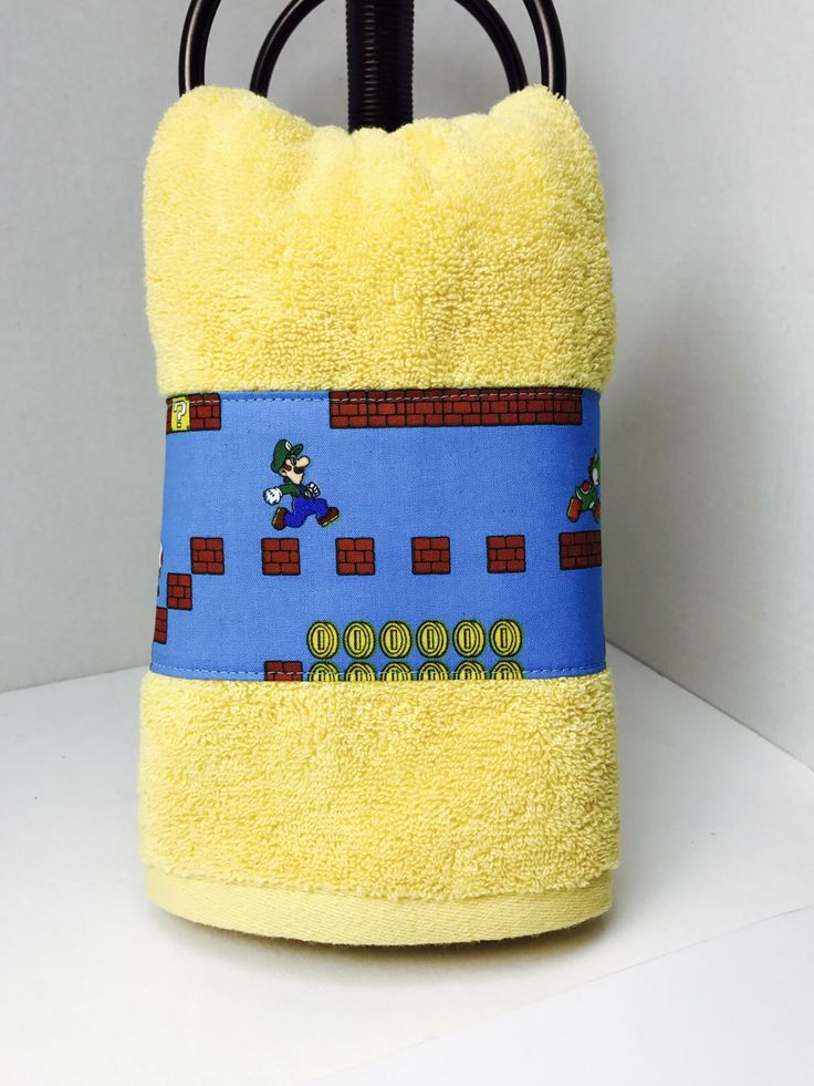 A personal favorite from my Etsy shop https://www.etsy.com/listing/501975296/blue-and-yellow-hand-towel-blue-and